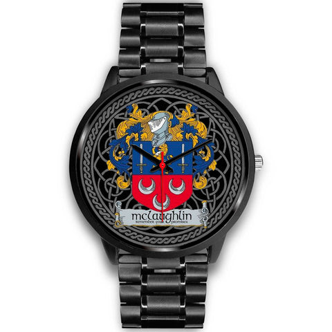 Irish Celtic Watches, McLaughlin or McLoughlin Family Crest Watches TH7