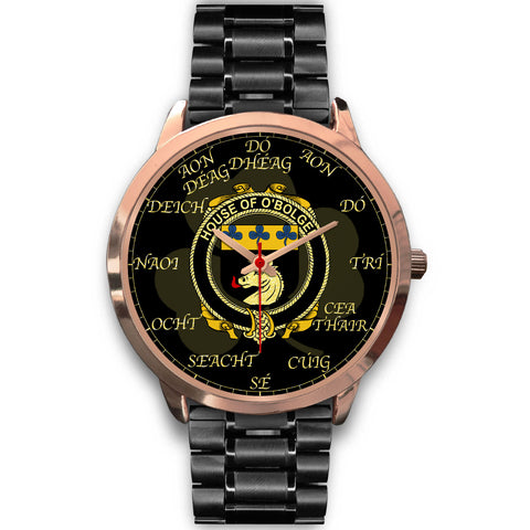 Irish Watch, Boulger or O'Bolger Ireland Family Rose Gold Watch TH7