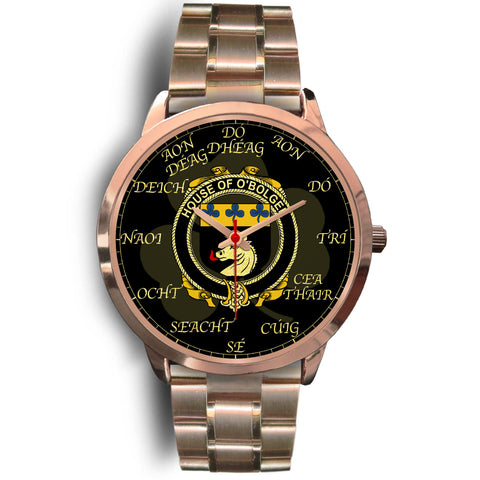 Image of Irish Watch, Boulger or O'Bolger Ireland Family Rose Gold Watch TH7