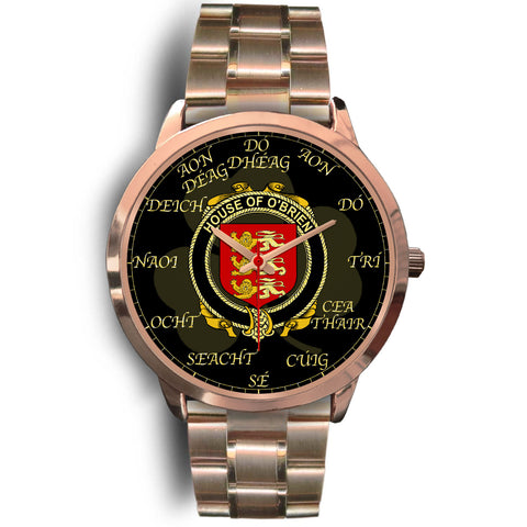 Image of Irish Watch, Brien or O'Brien Ireland Family Rose Gold Watch TH7