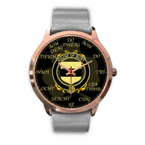 Irish Watch, Burt or Birt Ireland Family Rose Gold Watch TH7