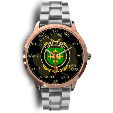 Image of Irish Watch, Bury or Berry Ireland Family Rose Gold Watch TH7