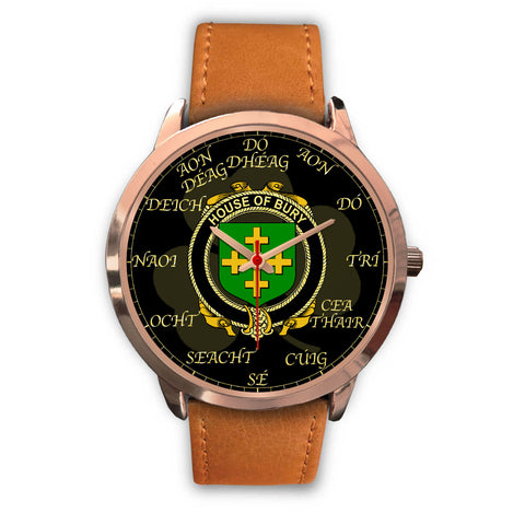 Irish Watch, Bury or Berry Ireland Family Rose Gold Watch TH7