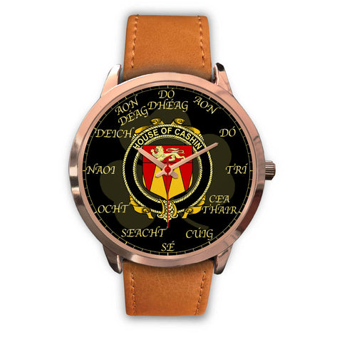 Irish Watch, Cashin or McCashine Ireland Family Rose Gold Watch TH7
