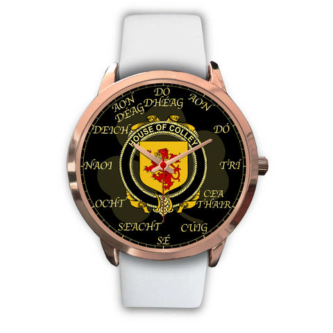 Irish Watch, Colley or McColley Ireland Family Rose Gold Watch TH7