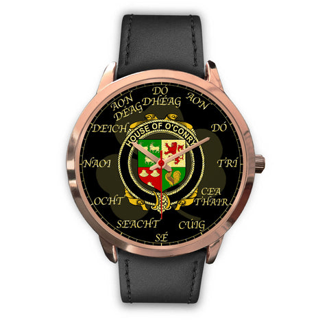 Irish Watch, Conroy or O'Conry Ireland Family Rose Gold Watch TH7
