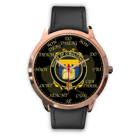 Irish Watch, Conroy or O'Mulconroy Ireland Family Rose Gold Watch TH7