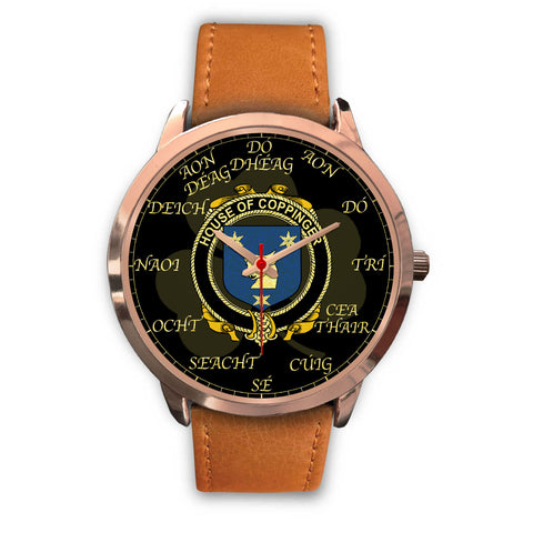 Image of Irish Watch, Coppinger Ireland Family Rose Gold Watch TH7