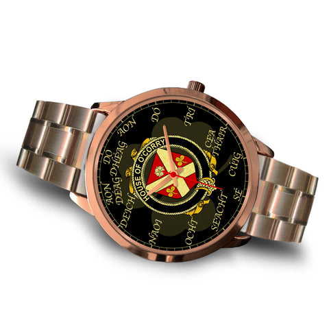 Irish Watch, Corry or O'Corry Ireland Family Rose Gold Watch TH7