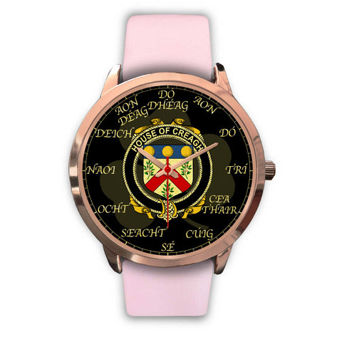 Image of Irish Watch, Creagh Ireland Family Rose Gold Watch TH7