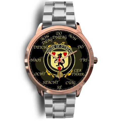 Image of Irish Watch, Crean or O'Crean Ireland Family Rose Gold Watch TH7