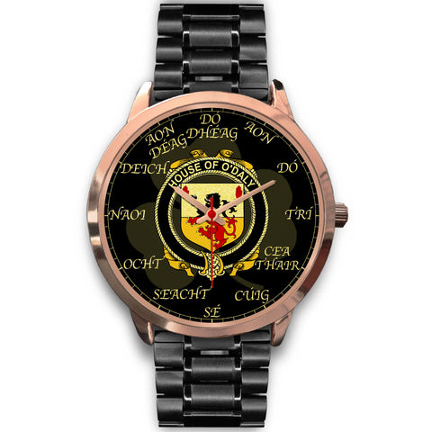 Irish Watch, Daly or O'Daly Ireland Family Rose Gold Watch TH7