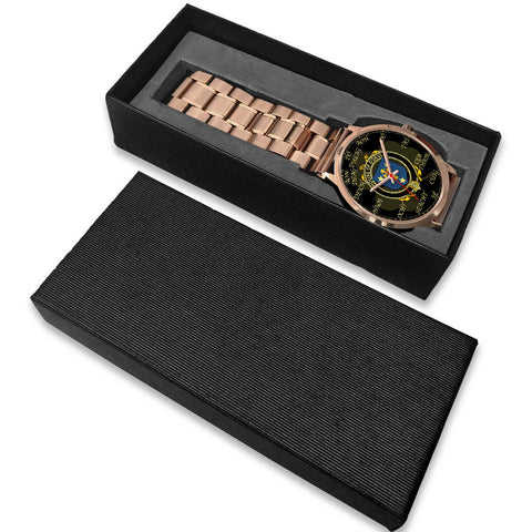 Irish Watch, Devlin or O'Devlin Ireland Family Rose Gold Watch TH7