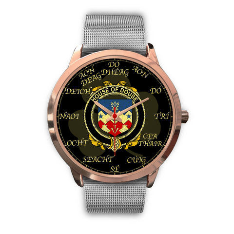 Image of Irish Watch, Douse or Dowse Ireland Family Rose Gold Watch TH7