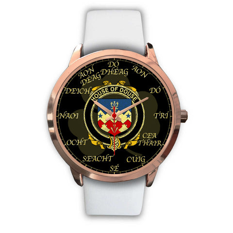 Irish Watch, Douse or Dowse Ireland Family Rose Gold Watch TH7