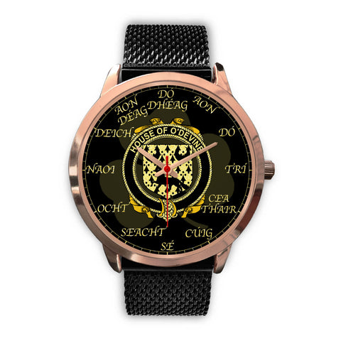 Irish Watch, Duane or O'Devine Ireland Family Rose Gold Watch TH7