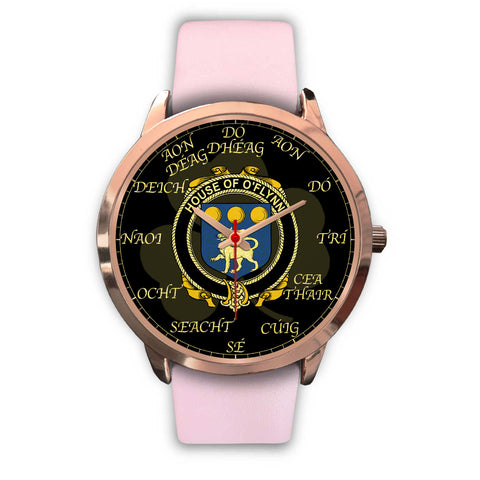 Irish Watch, Flynn or O'Flynn Ireland Family Rose Gold Watch TH7