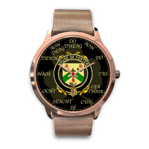 Irish Watch, Foster Ireland Family Rose Gold Watch TH7