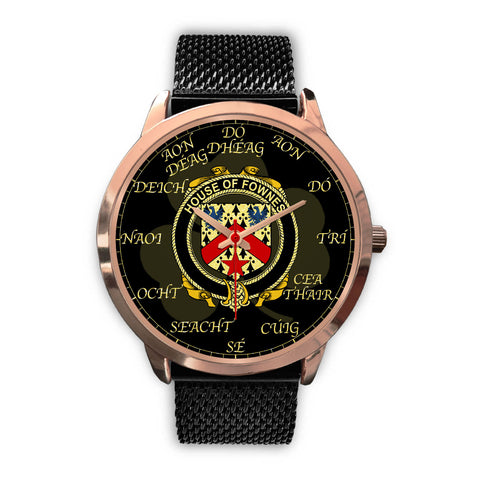 Irish Watch, Fownes Ireland Family Rose Gold Watch TH7