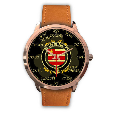 Image of Irish Watch, Fuller Ireland Family Rose Gold Watch TH7
