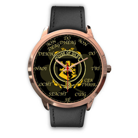 Irish Watch, Giles or Gyles Ireland Family Rose Gold Watch TH7