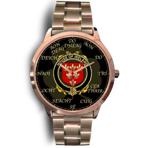 Irish Watch, Ireland Ireland Family Rose Gold Watch TH7