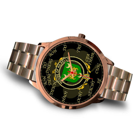 Irish Watch, Kilkelly or Killikelly Ireland Family Rose Gold Watch TH7