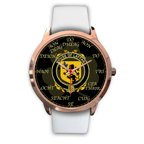 Irish Watch, Laffan Ireland Family Rose Gold Watch TH7