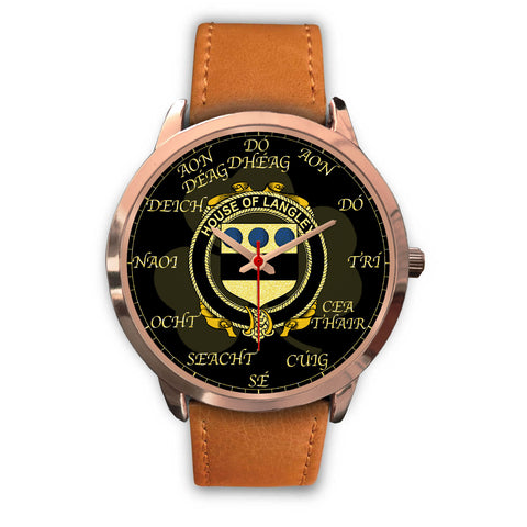 Irish Watch, Langley Ireland Family Rose Gold Watch TH7