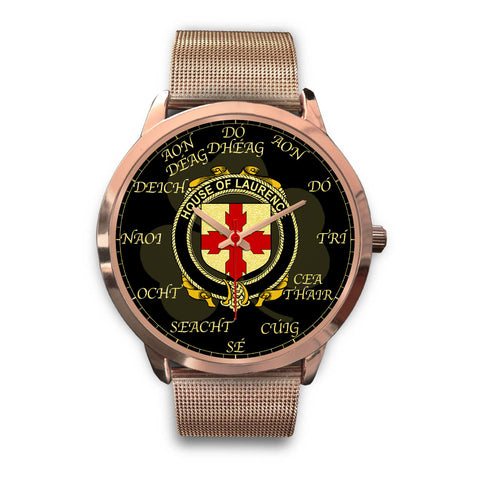 Irish Watch, Laurence Ireland Family Rose Gold Watch TH7