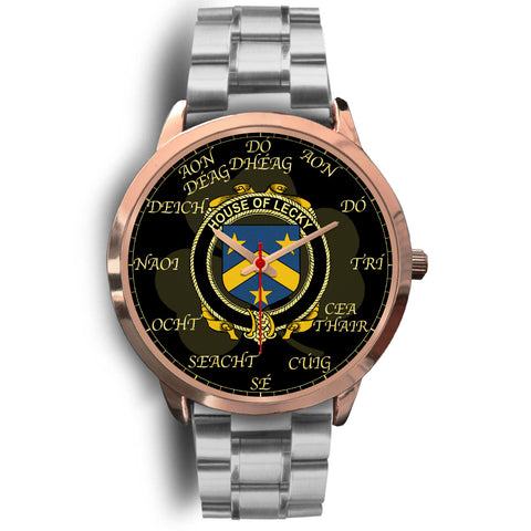 Image of Irish Watch, Lecky or Lackey Ireland Family Rose Gold Watch TH7
