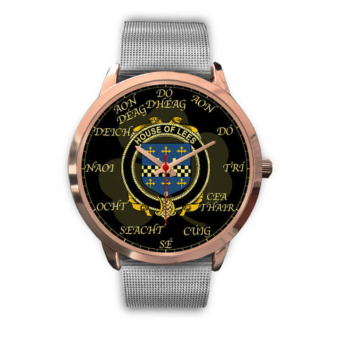 Irish Watch, Lees or McAleese Ireland Family Rose Gold Watch TH7