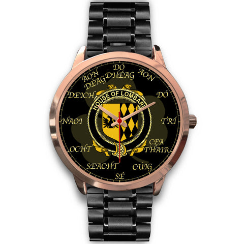 Irish Watch, Lombard Ireland Family Rose Gold Watch TH7