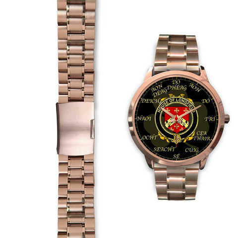Irish Watch, Longfield Ireland Family Rose Gold Watch TH7
