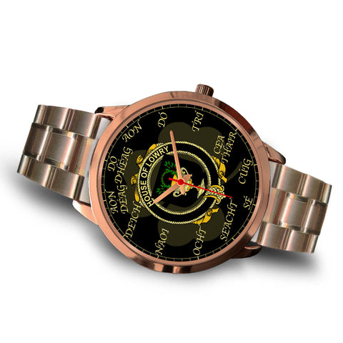 Irish Watch, Lowry or Lavery Ireland Family Rose Gold Watch TH7