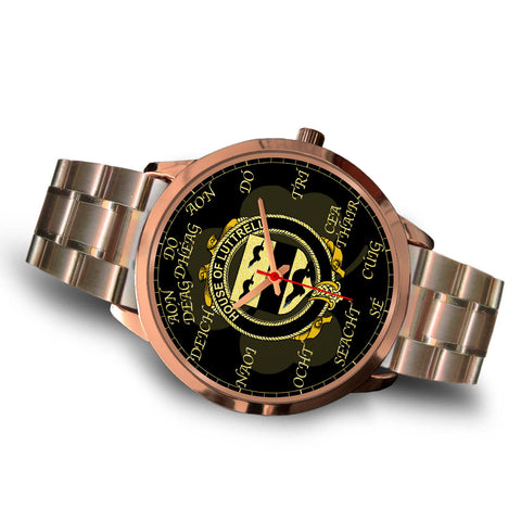 Irish Watch, Luttrell Ireland Family Rose Gold Watch TH7