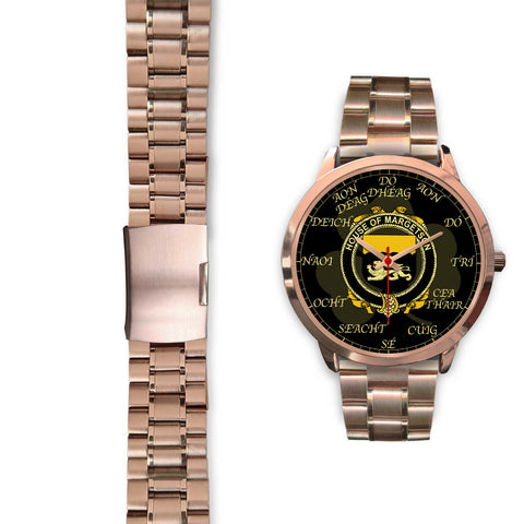 Irish Watch, Margetson Ireland Family Rose Gold Watch TH7