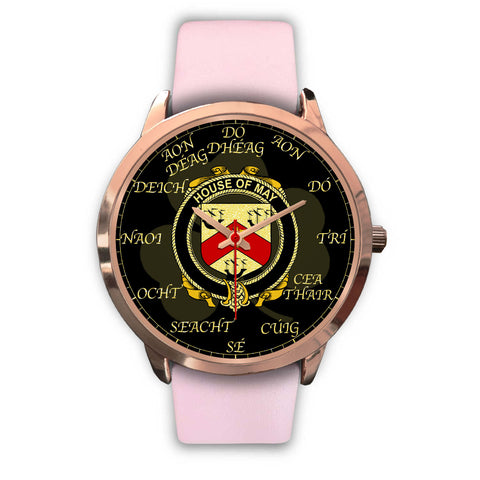 Irish Watch, May Ireland Family Rose Gold Watch TH7