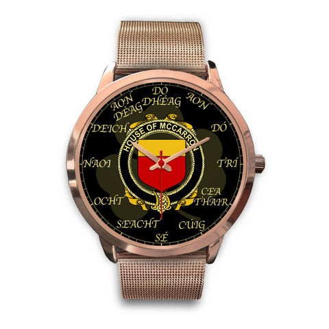 Irish Watch, McCarron Ireland Family Rose Gold Watch TH7
