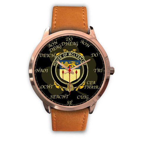 Irish Watch, McLysacht or Lysacht Ireland Family Rose Gold Watch TH7