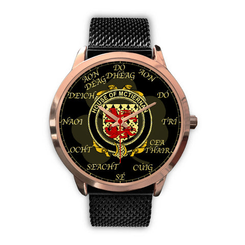 Image of Irish Watch, McTiernan or Kiernan Ireland Family Rose Gold Watch TH7