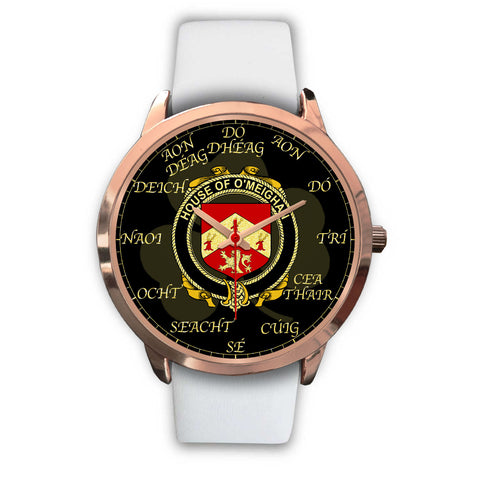 Irish Watch, Meehan or O'Meighan Ireland Family Rose Gold Watch TH7
