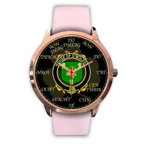 Image of Irish Watch, Melody or O'Moledy Ireland Family Rose Gold Watch TH7