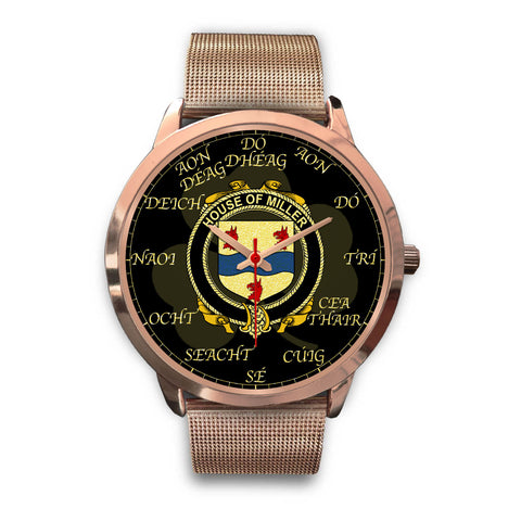 Image of Irish Watch, Miller Ireland Family Rose Gold Watch TH7