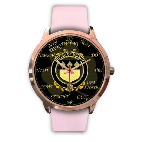 Image of Irish Watch, Misset Ireland Family Rose Gold Watch TH7