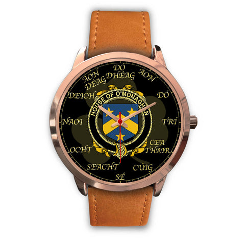 Irish Watch, Monahan or O'Monaghan Ireland Family Rose Gold Watch TH7