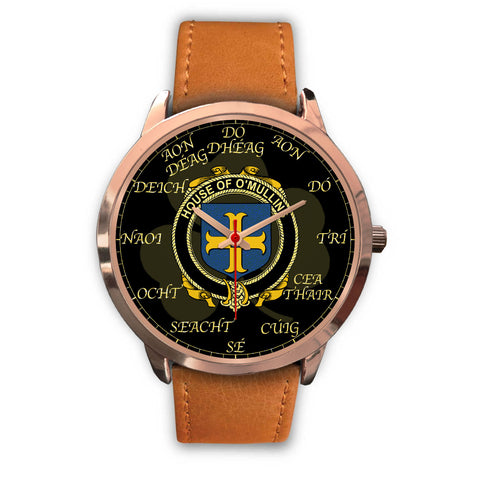 Irish Watch, Mullins or O'Mullins Ireland Family Rose Gold Watch TH7