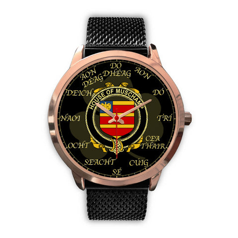 Image of Irish Watch, Muschamp Ireland Family Rose Gold Watch TH7