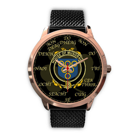 Image of Irish Watch, Musgrave Ireland Family Rose Gold Watch TH7