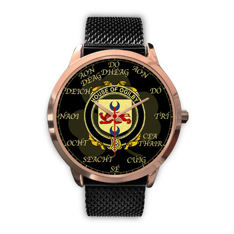 Image of Irish Watch, Ogilby Ireland Family Rose Gold Watch TH7
